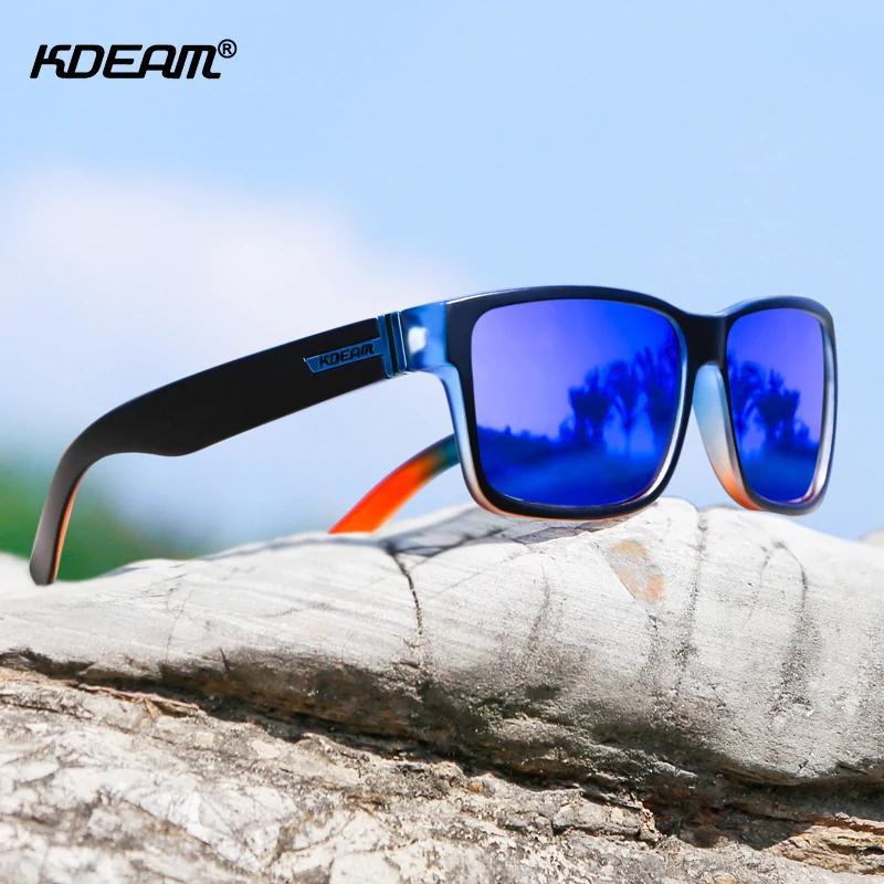 Outdoor Sports HD Polarized Discoloration Colorful Sunglasses
