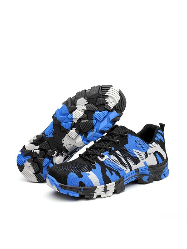 2019 Camouflage Anti-Smashing And Puncture Safety Shoes