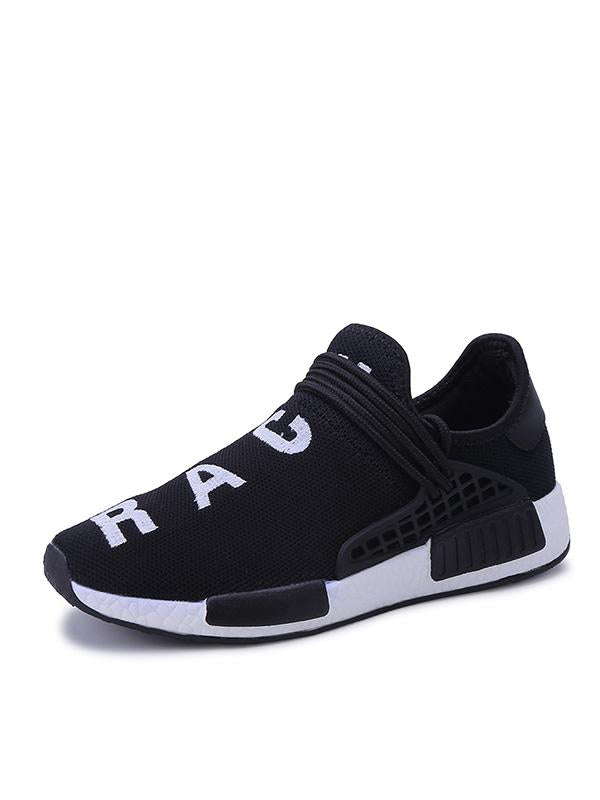 2019 Street Fashion Breathable Flying Woven Running Shoes