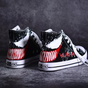 2019 New Venom Graffiti Hand-Painted Shoes