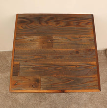 Load image into Gallery viewer, Gorgeous handcrafted solid wood modern rustic nightstand. Made in the U.S.A. from re-claimed barn wood. Very classy and comfortable. Will go great next to any bed in any bedroom.