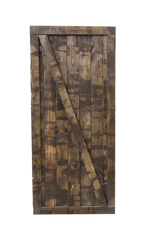 Dark Chocolate Barn Door