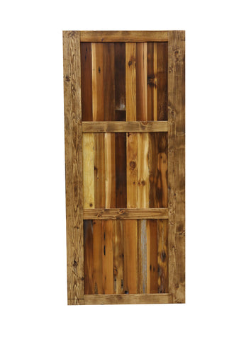 Multi Colored Barn Door