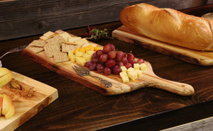 Charcuterie Board With Handle