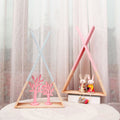 Wooden Triangular Wall Rack - lovedécorart