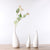 Simple Slender Neck White Ceramic Vases - lovedécorart