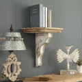 Solid Wood Wall Bookshelf - lovedécorart