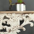 Solid Wood Wall Rack - lovedécorart