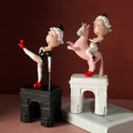 Cartoon Resin Girl Sculptures - lovedécorart