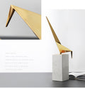 Thousand Paper Crane Marble Art - lovedécorart