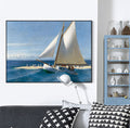 Ocean Oil Painting Wall Art - lovedécorart