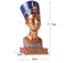Egyptian Queen's Head Sculpture - lovedécorart