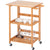 Collapsible Household Solid Wood Kitchen Storage Vehicle - Only Available for Buyers in USA - lovedécorart