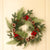 Christmas Red Fruit Wreath - lovedécorart