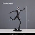 Sports Characters Sculpture Decor Ornaments - lovedécorart