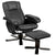 Footstool Sofa Two-piece Suit Casual Leather Lounge Chair - Only Available for Buyers in USA - lovedécorart
