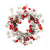 Christmas Bell Red Fruit Wreath - lovedécorart