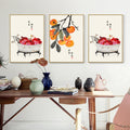 Chinese Fruit Wall Art - lovedécorart