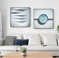 Metal Blue Wall Art - lovedécorart
