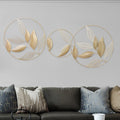 Modern Gold Leaf Wall Hanging - lovedécorart