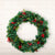Christmas Pine Needle and Pine Cone Wreath - lovedécorart