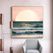 Sunrise Coast Sea Wall Art - lovedécorart