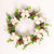 Rattan Cotton Christmas Wreath - lovedécorart