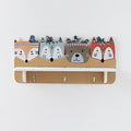 Wooden Porch Wall Rack - lovedécorart