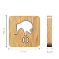 LED Elephant Playing Wooden Lamp - lovedécorart
