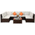 Seven-piece Rattan Sofa Garden Furniture Combination- Only Available for Buyers in USA - lovedécorart