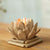 Home Handmade Design Lotus Shape Candle Holder - lovedécorart