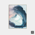 Abstract Art Ink Painting - lovedécorart