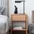Wooden Nightstand With Drawer - lovedécorart