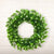 Green Simulated Milan Flower Christmas Wreath - lovedécorart