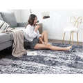 Ink Rectangular Polyester Rugs - lovedécorart