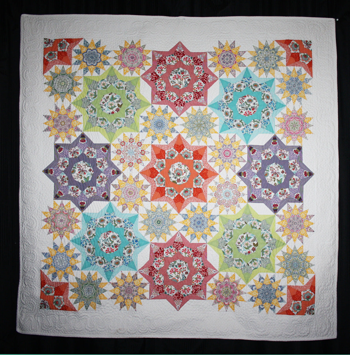 STAR PAPER TEMPLATES FOR ENGLISH PAPER PIECING