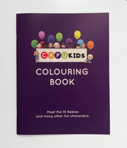 """Counting Babies"" Colouring Book"