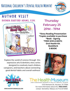Book Launch for Give Kids A Smile Day Celebrating National Children's Dental Health Month! at 25 Feb 21 14:00 CST