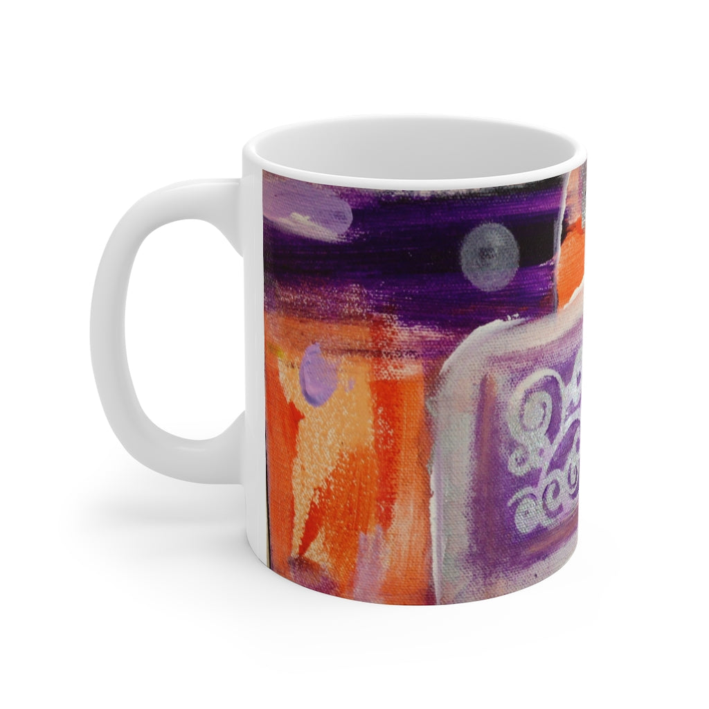 Mango and Blueberries - Mug 11oz