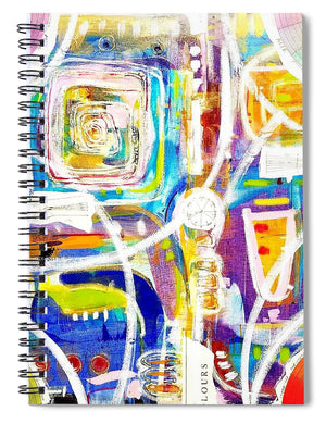 Color Therapy - Spiral Notebook
