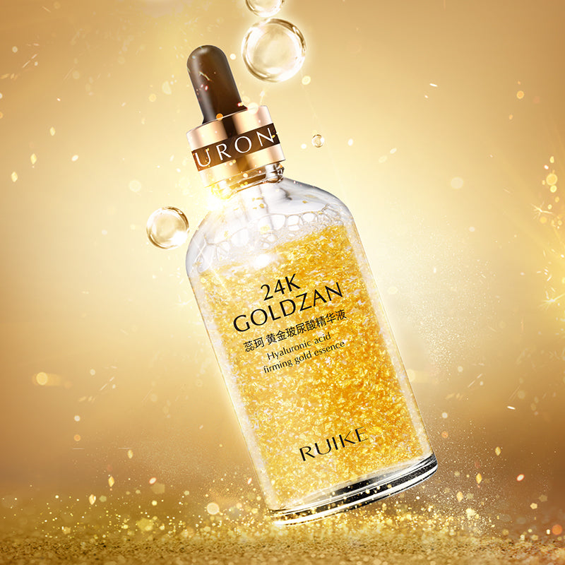 24K goldzan face serum