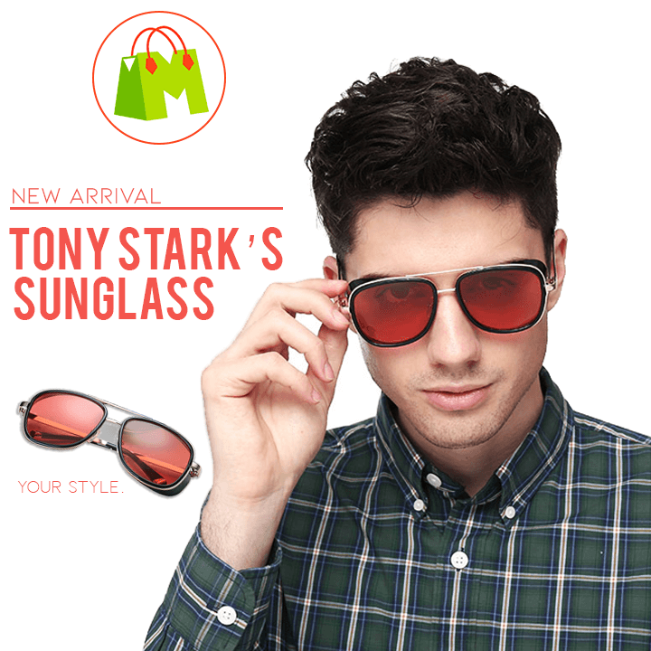 Iron Man Retro Sunglasses