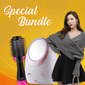 Hair Dryer,Make-Up Box & Winter Scarf Bundle