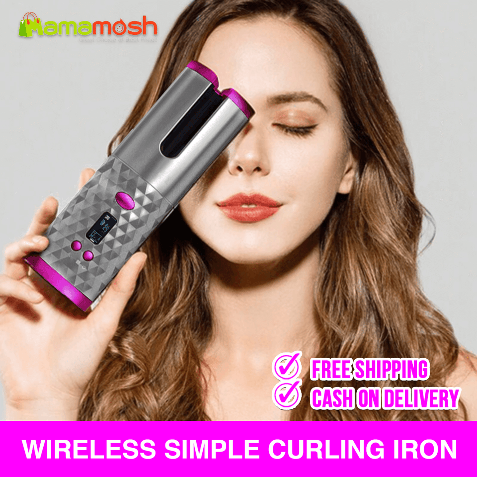 wireless curler