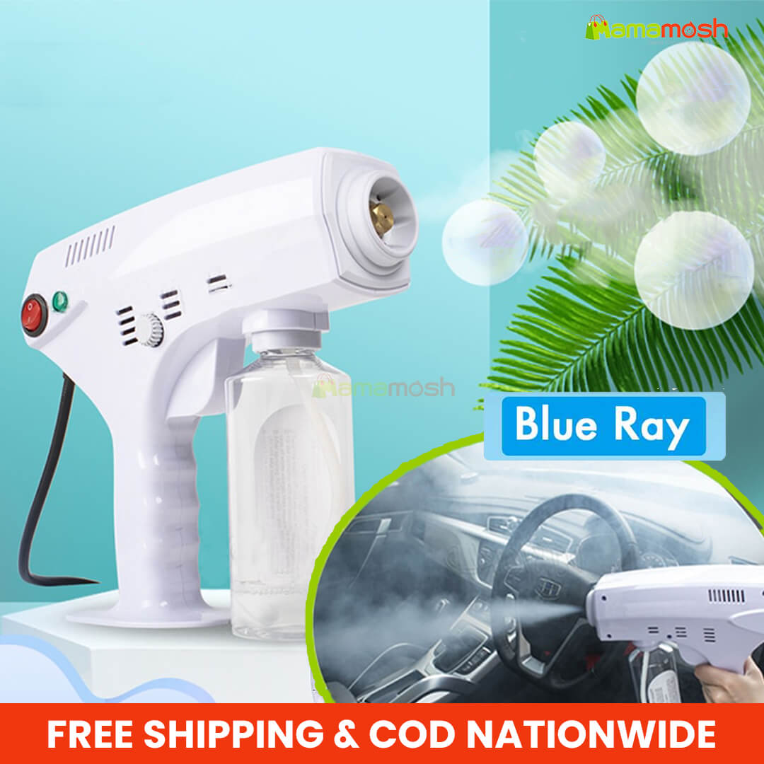 Spray Gun Disinfection