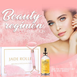 Jade Roller & Goldzan Bundle