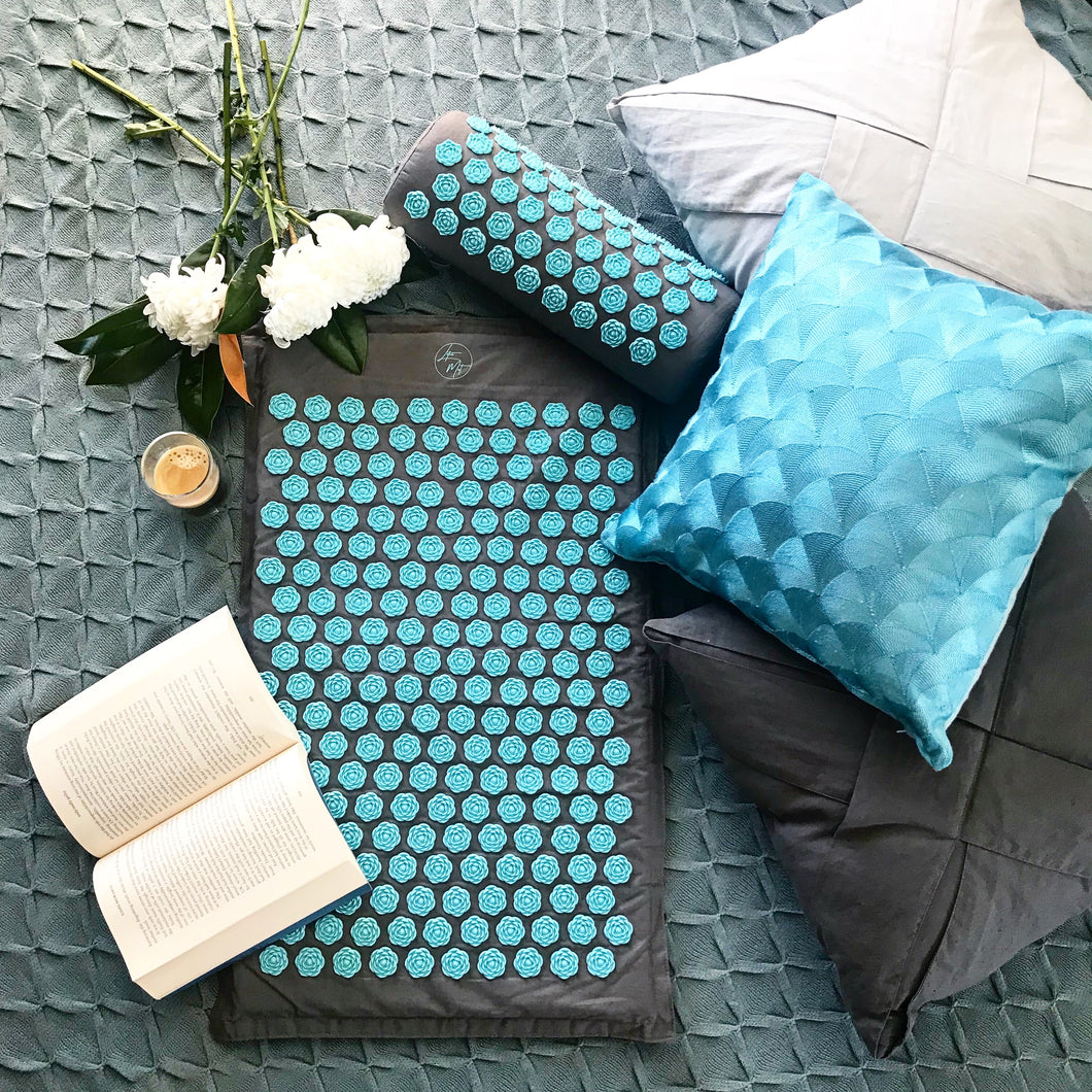 Lotus Mat Set - Blue