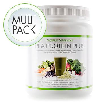 Pea Protein Plus - 4 Pack