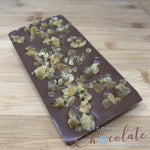 Deluxe Milk Chocolate with Crystalised Ginger Bar