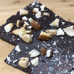 Dark Chocolate and Brazil Nut Slab